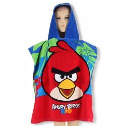 Detské bavlnené pončo Angry Birds