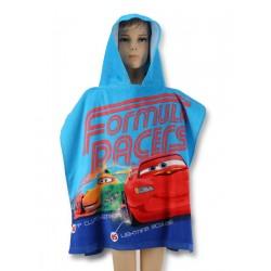 Detské bavlnené pončo Cars