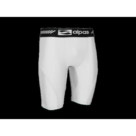 Elasticé nohavice Alpas - biela