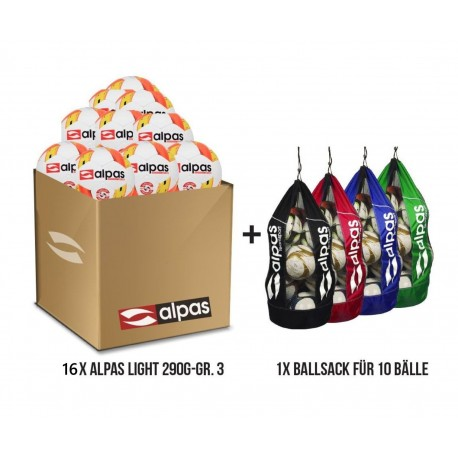 Akciový balík Alpas Light 3 - 290 G