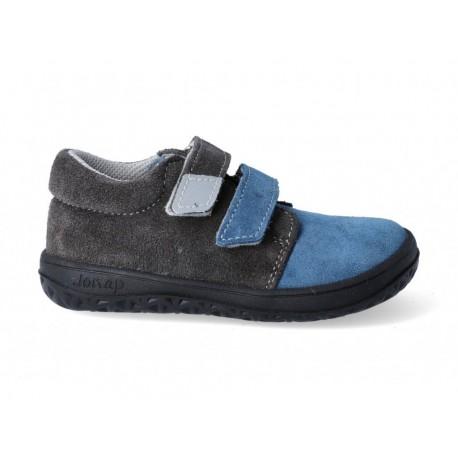 Barefoot topánky Jonap B1 - modrá/šedá