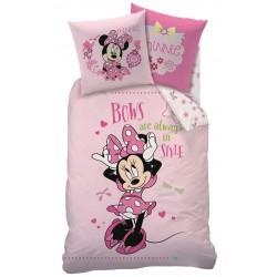 """Posteľné obliečky Minnie Mouse """"Bows Style"""""""