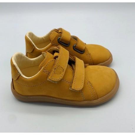 Detské barefoot topánky Baby Bare Febo Spring Mustard