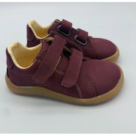 Detské barefoot topánky Baby Bare Febo Spring - wine