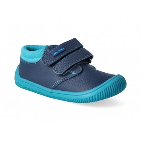 Detské barefoot topánky Protetika Rony - tyrkys