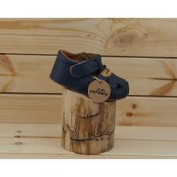 Detské barefoot sandály Pegres B1096 - modrá