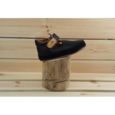 Detské barefoot topánky Pegres B1100 - čierna