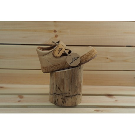 Detské barefoot topánky Pegres B1100 - piesková