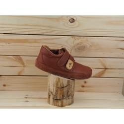 Detské barefoot topánky Pegres B1407 - barna