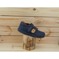 Detské barefoot topánky Pegres B1407 - tmavomodrá