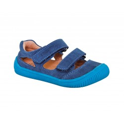 Detské barefoot sandály Protetika Berg - navy
