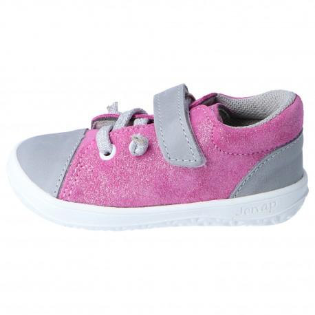 Detské barefoot topánky Jonap B12 - ružová devon