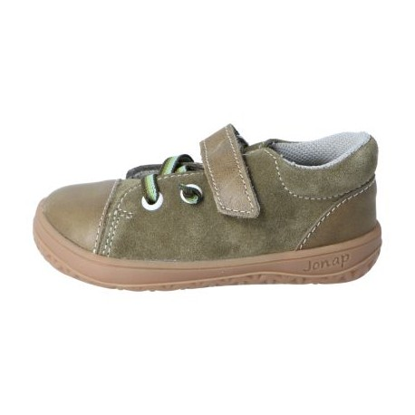 Detské barefoot topánky Jonap B12 - khaki