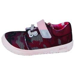 Detské barefoot topánky Jonap B7 - vínová