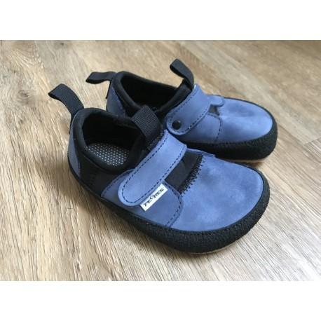 Detské barefoot topánky Pegres BF30 - modrá