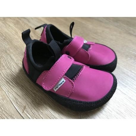 Detské barefoot topánky Pegres B30 - ružová