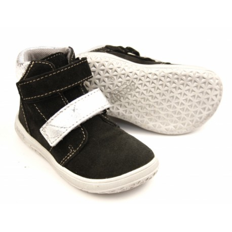 Detské barefoot topánky Jonap B2/SV - čierna