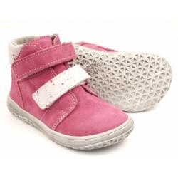 Detské barefoot topánky Jonap B2/SV - ružová