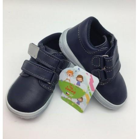 Detské barefootové topánky Jonap B1/MV - modrá