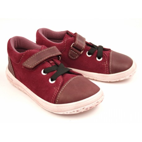 Detské barefoot topánky Jonap B12mv - vínová