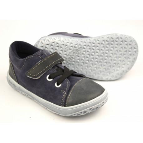 Detské barefoot topánky Jonap B12mv - modrá