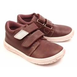 Detské barefootové topánky B1/SV - vínová