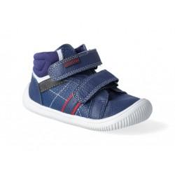 Detské barefoot topánky Protetika Dany - navy