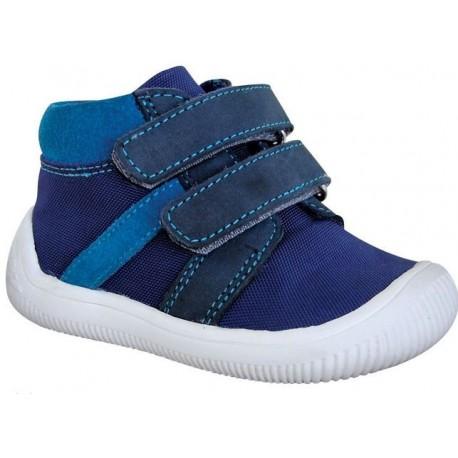 Detské barefoot topánky Protetika Step - navy