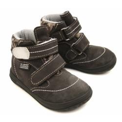 Detské barefoot topánky Jonap B3/S - šedá