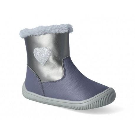 Detské zimné barefoot topánky Protetika Lory