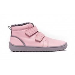 Detské zimné barefoot topánky Be Lenka Penguin - Pink
