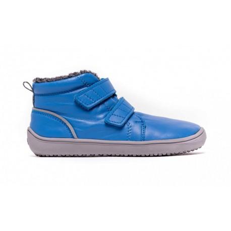Detské zimné barefoot topánky Be Lenka Penguin - Blue