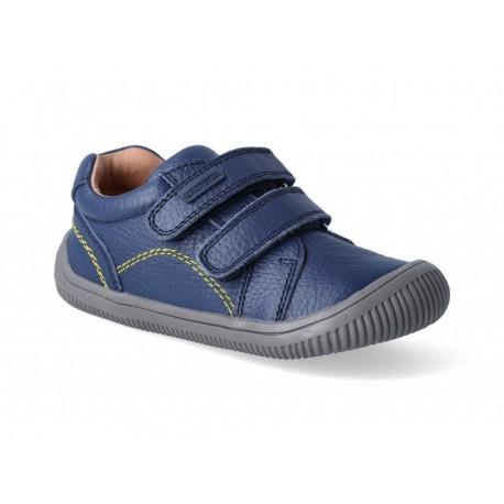 Detské barefoot topánky Protetika Lars - navy