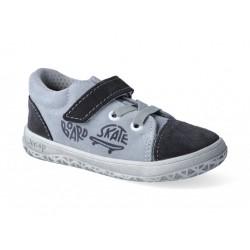 Detské barefootové topánky Jonap B12sv - šedá skate