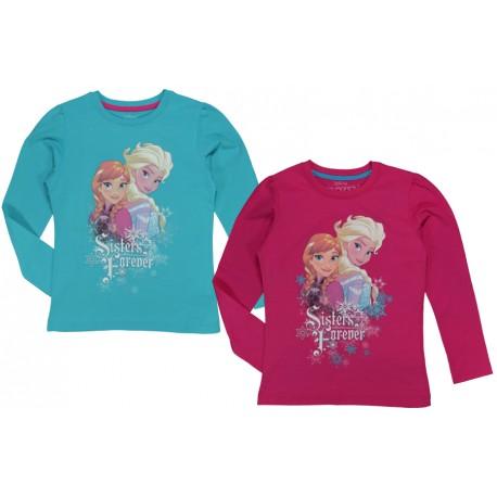 "Tričko s dlhým rukávom Frozen ""Sisters"""