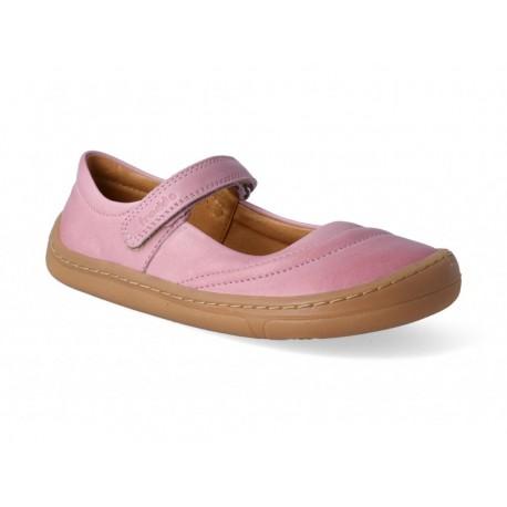 Detské barefoot baleríny Froddo G3140124-2 - pink