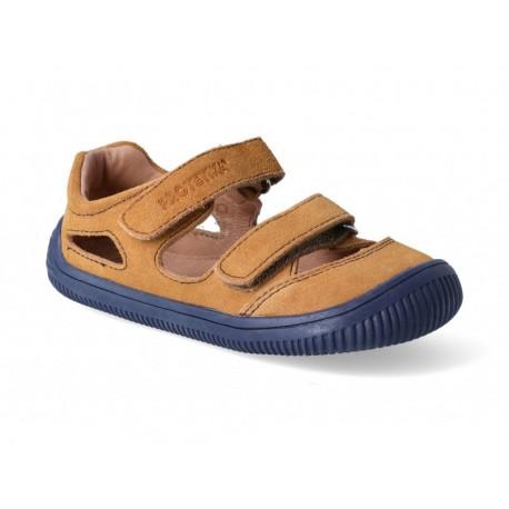 Detské barefoot sandály Protetika Berg - beige