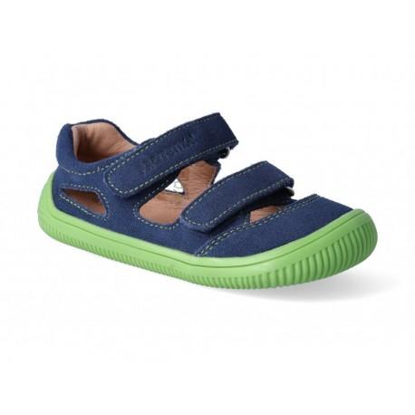 Detské barefoot sandálky Protetika Berg - denim