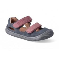 Detské barefoot sandálky Protetika Berg - grigio