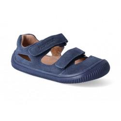 Detské barefoot sandálky Protetika Berg - marine