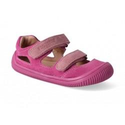 Destské barefoot sandálky Protetika Berg - pink