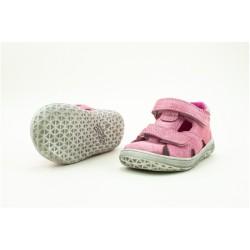 Detské barefoot sandálky Jonap B8S - ružová