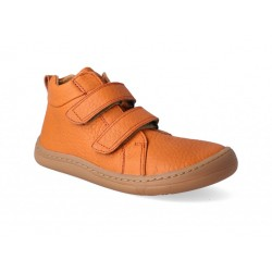 Detská barefoot členková obuv Froddo G3110195-1 - orange