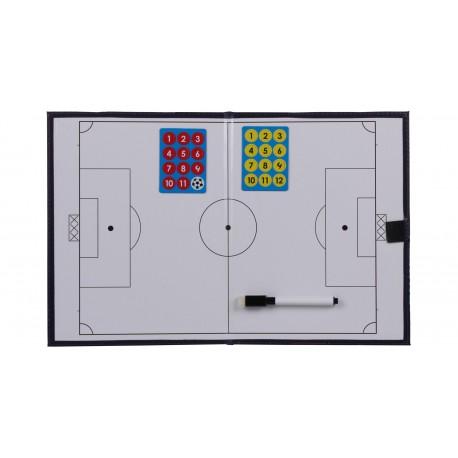 Magnetická trénerská tabuľa Merco - futbal