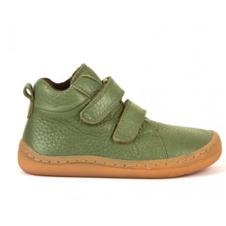 Detská barefoot členková obuv Froddo G3110195-6 - olive