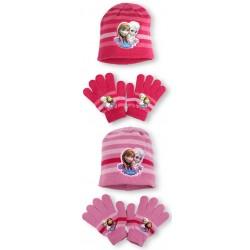 Detská čiapka + rukavice Frozen