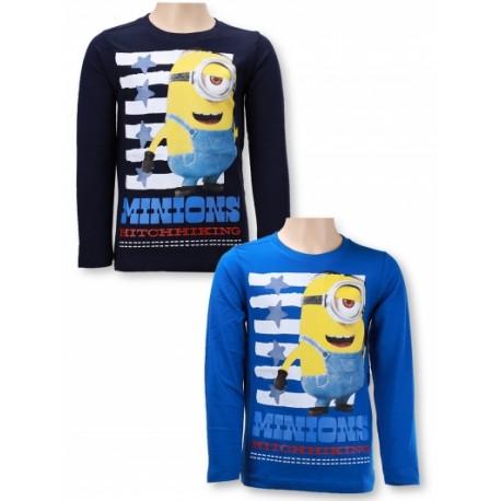 Detské tričko s dlhým rukávom Minions Boys