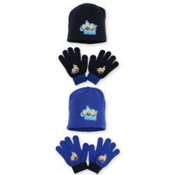 Detsk čiapka + rukavice Minions