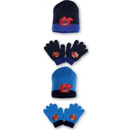 Detská čiapka + rukavice Spider-Man