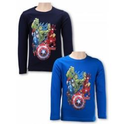 Detské tričko s dlhým rukávom Avengers